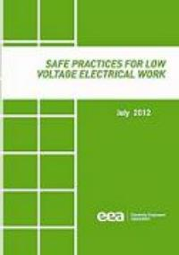Full size image of Safe Practices for Low Voltage Electrical Work (July 2012)
