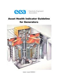 Full size image of Asset Health Indicator Guideline for Generators