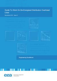 Full size image of Work on De-Energized Distribution Overhead Lines (Guide)