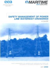 Full size image of Safety Management for Overhead and Underground Power Line Crossings of Navigable Waterways and Slipways (Guide)